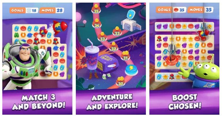 بازی سه رنگ مشابه Toy Story Drop! اندروید
