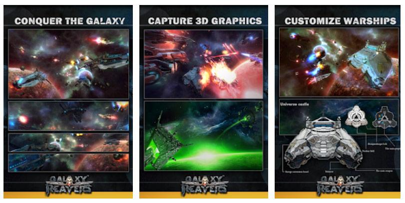بازی گرافیکی Galaxy Reavers اندروید
