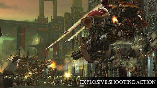 بازی گرافیکی Warhammer 40,000: Freeblade اندروید