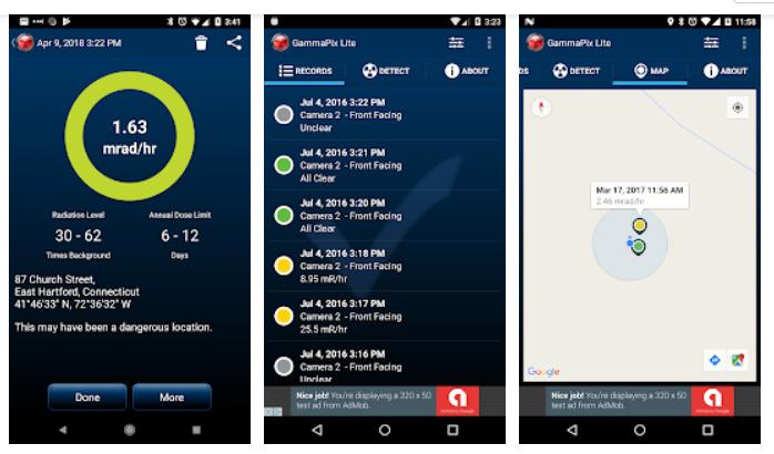 برنامه GammaPix Lite برای سنسور گوشی اندروید
