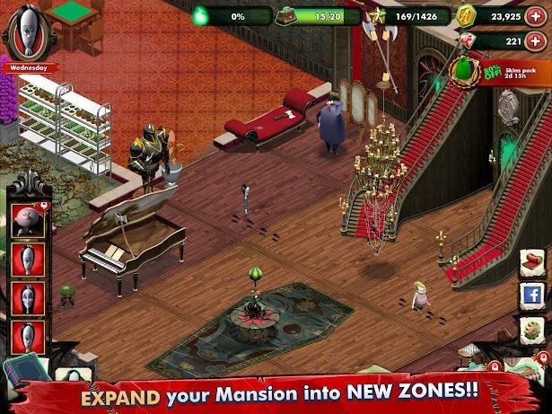 بازی جدید The Addams Family - Mystery Mansion اندروید