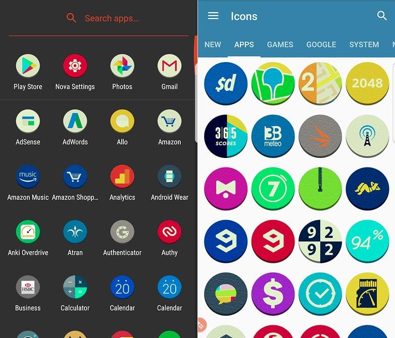 برنامه پک آیکون Atran - Icon Pack
