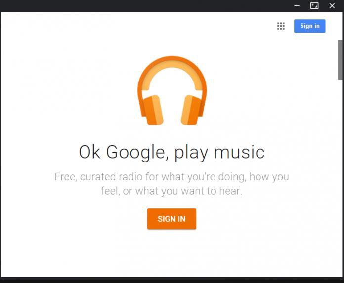 گوگل پلی موزیک برای کامپیوتر