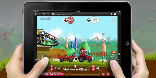 مرورگر Puffin Web Browser اندروید برای اجرای بازی فلش