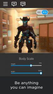 محیط بازی ROBLOX