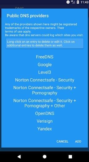 فعال کردن OpenDNS