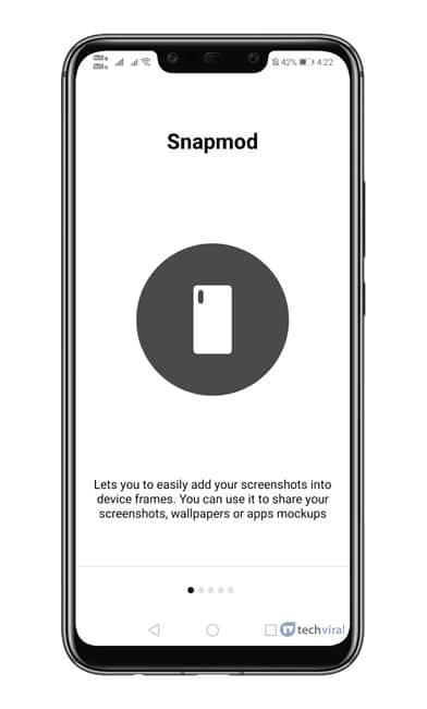 یادگیری روش کار با Snapmod