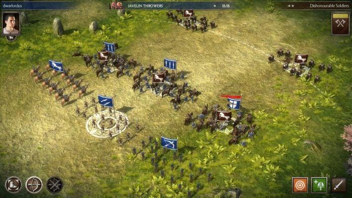 بازی Total War Battles مشابه کلش برای اندروید