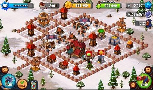 بازی Vikings: War of Clans مشابه کلش برای اندروید