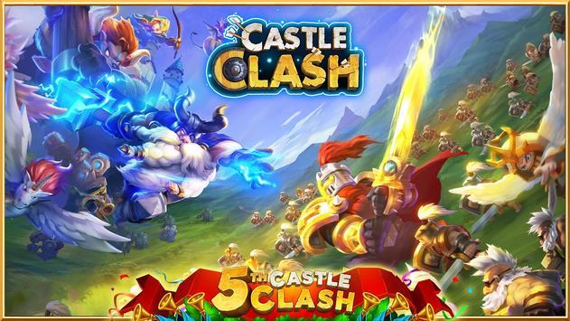 بازی Castle Clash: Brave Squads مشابه کلش برای اندروید