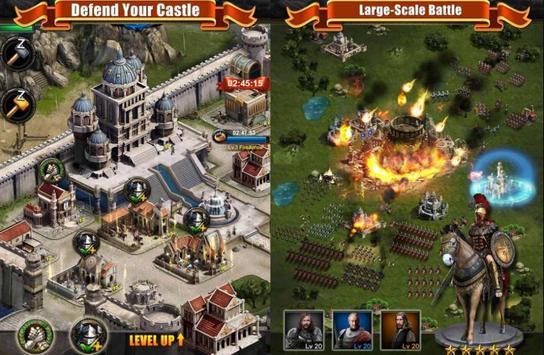 بازی Clash of Kings مشابه کلش برای اندروید