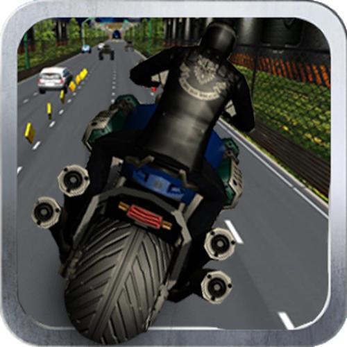 محیط بازی Highway Bike Race 3D اندروید