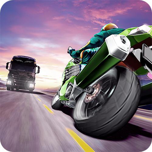 محیط بازی Traffic Rider اندروید