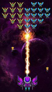 محیط بازی Galaxy Attack : Alien Shooter اندروید