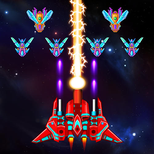 بازی Galaxy Attack : Alien Shooter اندروید