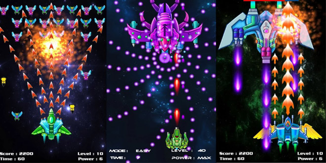 بازی Galaxy Attack Alien Shooter