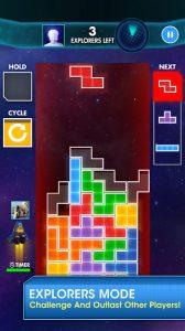 محیط بازی تتریس TETRIS اندروید