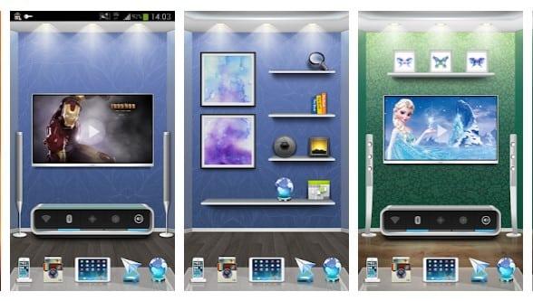 برنامه 3D Home لانچر سه بعدی اندروید