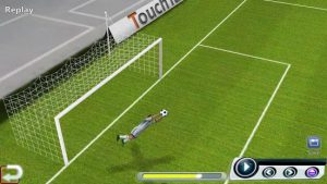 محیط بازی World Soccer League اندروید