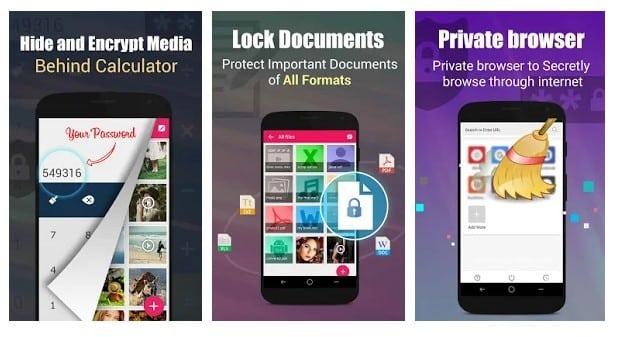 برنامه ماشین حساب مخفی Private Photo, Video Locker اندروید