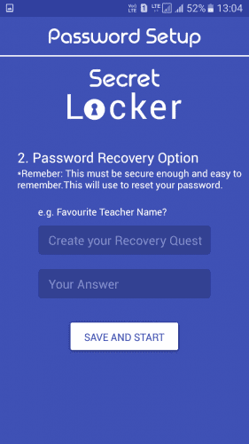تعیین روش بازیابی رمز عبور
