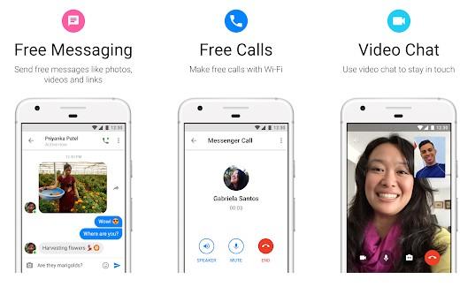 برنامه Messenger Lite اندروید