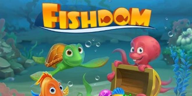 بازی قلمروی ماهی ها Fishdom برای اندروید