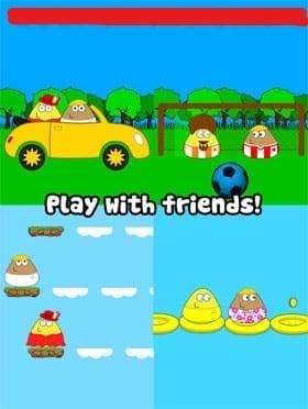 ویژگی های بازی Pou