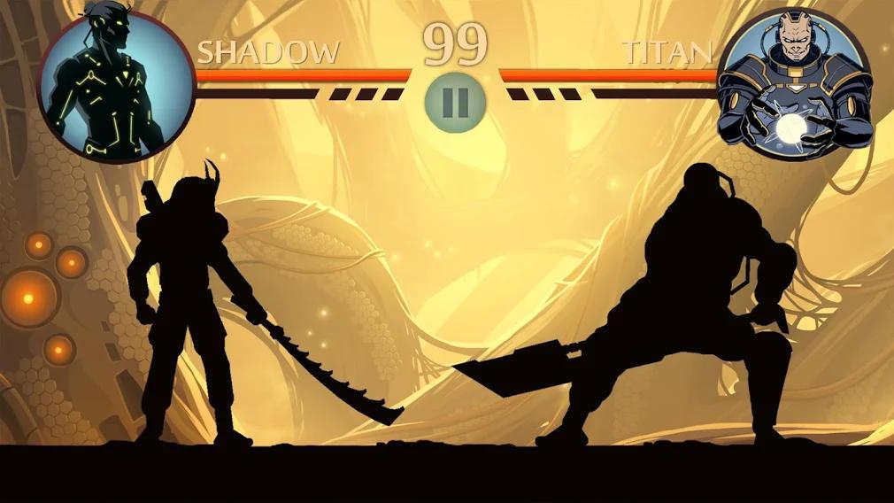 محیط بازی Shadow Fight 2 اندروید