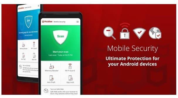 برنامه دزدگیر Mobile Security اندروید