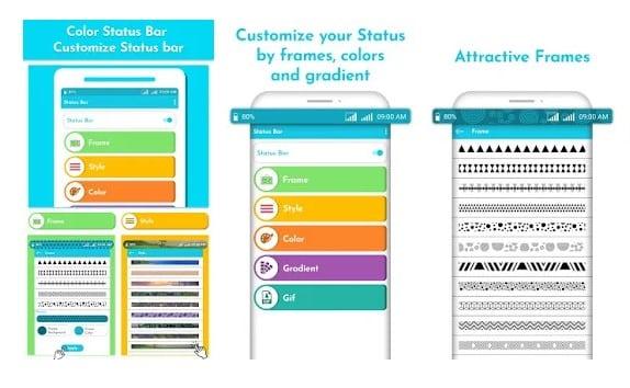 برنامه Color Status Bar برای شخصی سازی اندروید