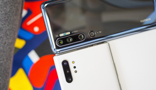 Galaxy Note 10 and Mi Note 10