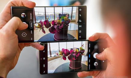 محیط اپلیکیشن دوربین