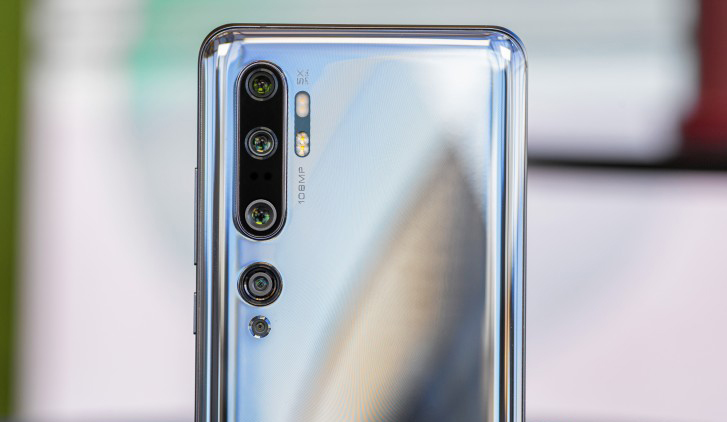 دوربین های پشتی Mi Note 10