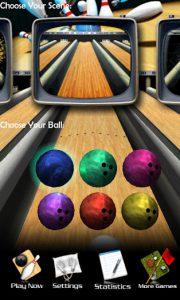 محیط بازی 3D Bowling اندروید