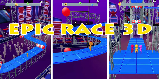 بازی Epic Race 3D برای اندروید