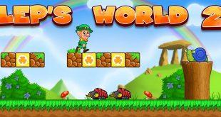بازی دنیای لپ 2 بازی Lep's World 2 اندروید