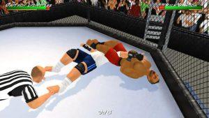 محیط بازی Wrestling Revolution 3D اندروید