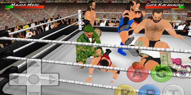 بازی Wrestling Revolution 3D کشتی کج اندروید