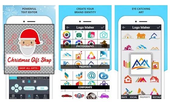 برنامه Logo Maker آیکون ساز اندروید
