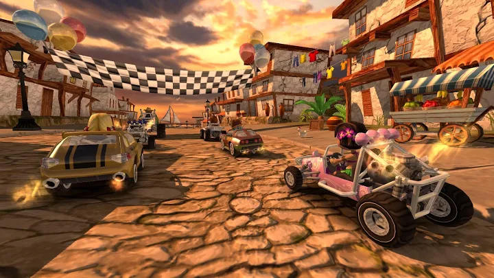 بازی های ماشین سواری آفلاین Beach Buggy Racing اندروید