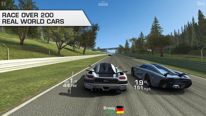 بازی های ماشین سواری آفلاین Real Racing 3 اندروید