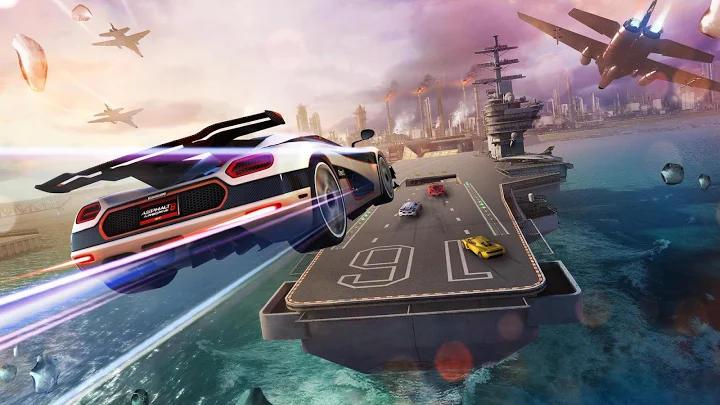 بازی های ماشین سواری آفلاین Asphalt 8: Airborne اندروید