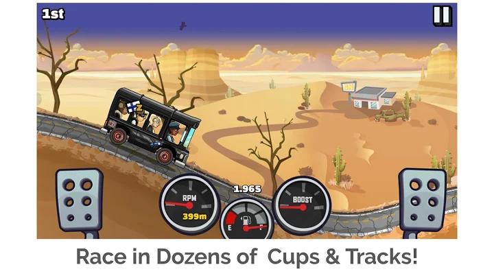 بازی های ماشین سواری آفلاین Hill Climb Racing 2 اندروید