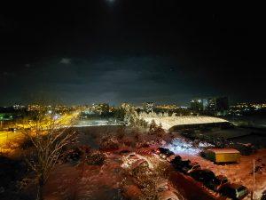 شب، دوربین فوق عریض، حالت Night Mode