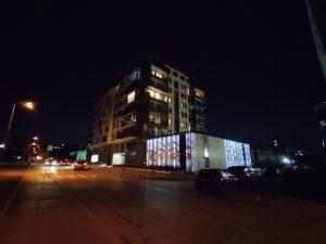 شب، دوربین فوق عریض، حالت عادی