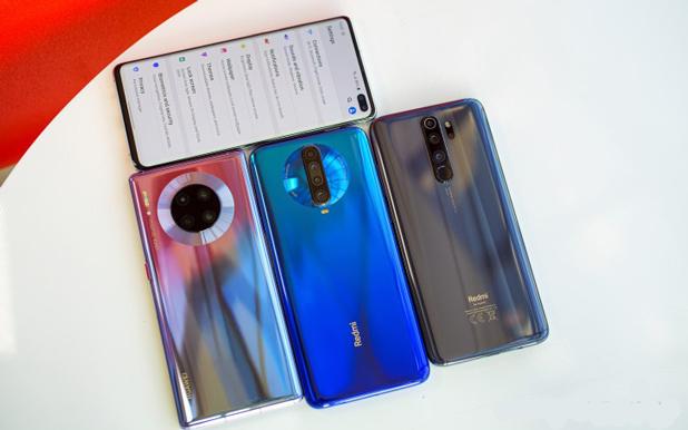 Mate 30 Pro - Galaxy S10 Pus - Redmi K30 - Note 8 Pro