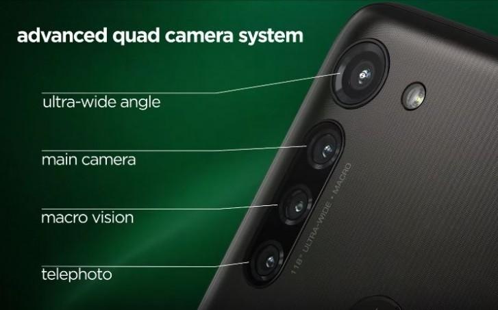ساختمان دوربین Moto G8 Power