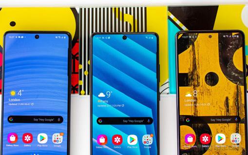 Galaxy A71 - Galaxy S10 Lite - Galaxy Note10 Lite