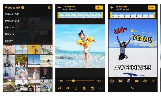 برنامه ImgPlay برای تبدیل عکس به انیمیشن اندروید